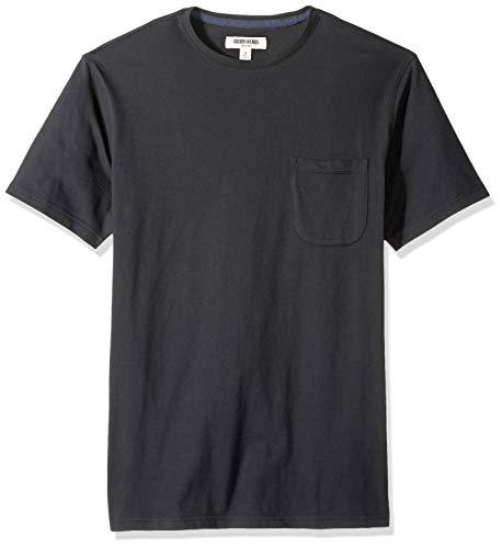 Marca Amazon - Goodthreads - Camiseta de manga corta y cuello redondo...