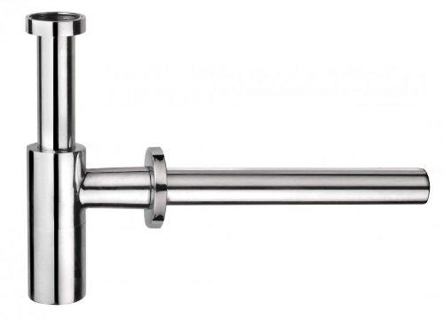 Cornat T317603 Design Tassen-Geruchsverschluss rund, Messing, chrom