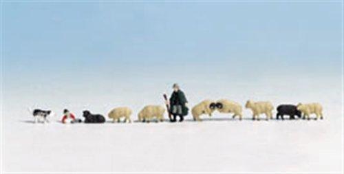 Noch 45750 - Schäfer und Schafe Figuren
