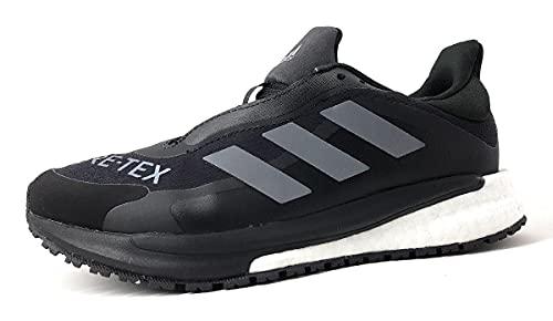 adidas Solar Glide 4 GTX W, Zapatillas de Running Mujer, NEGBÁS/Gricua/FTWBLA, 42 2/3 EU