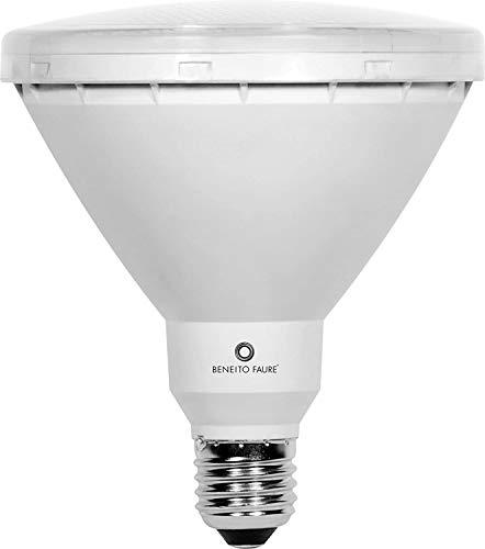 PAR 38 LED 15W 230V E27 warmton IP65 LED Reflektorlampe - Ersatzmöglichkeit PAR38 60W - PAR38 80W) - für Gartenspots Gartenstrahler Gartenspieße Erdspießstrahler aussen