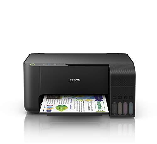 Epson EcoTank L-3110 - Impresora Multifunción A4, Copia Escaneado Impresión, Conexión con Cable USB