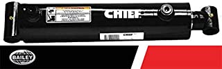 3000 PSI Chief WC Welded Cylinder: 3 Bore x 16 Stroke 287036 Retracted: 26.25 and Extended Length: 42.25 1 Pin Dia 1.5 Rod Diameter with SAE #8 Port Size