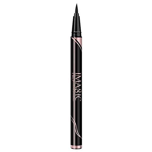 1 Pcs Noir Longue Durée Liquide Eye Liner Stylos Crayon Formule Étanche Séchage Rapide Séchage Anti-taches Eyeliners Cosmétique Beauté Maquillage