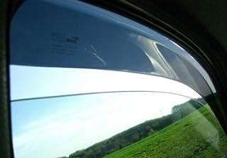 ZentimeX Z900430 Windabweiser Regenabweiser Acrylglas dunkelgrau für VORNE_UND_HINTEN