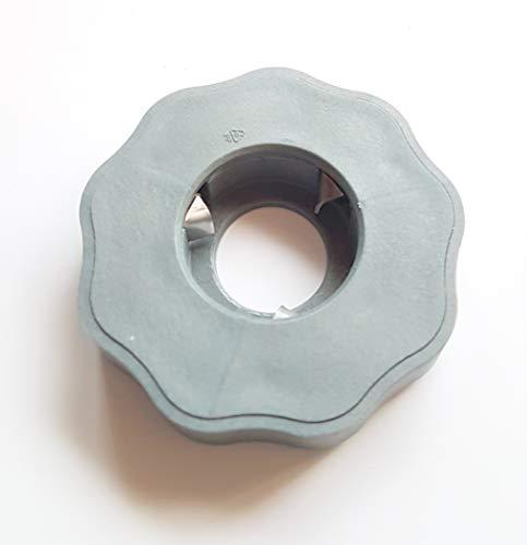 EasyDrehFix - Apribottiglie per anziani (grigio argento)