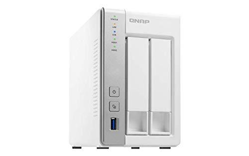 Preisvergleich Produktbild Qnap TS-231P2-4G 2-Bay 20TB Bundle mit 2X 10TB IronWolf ST10000VN0004