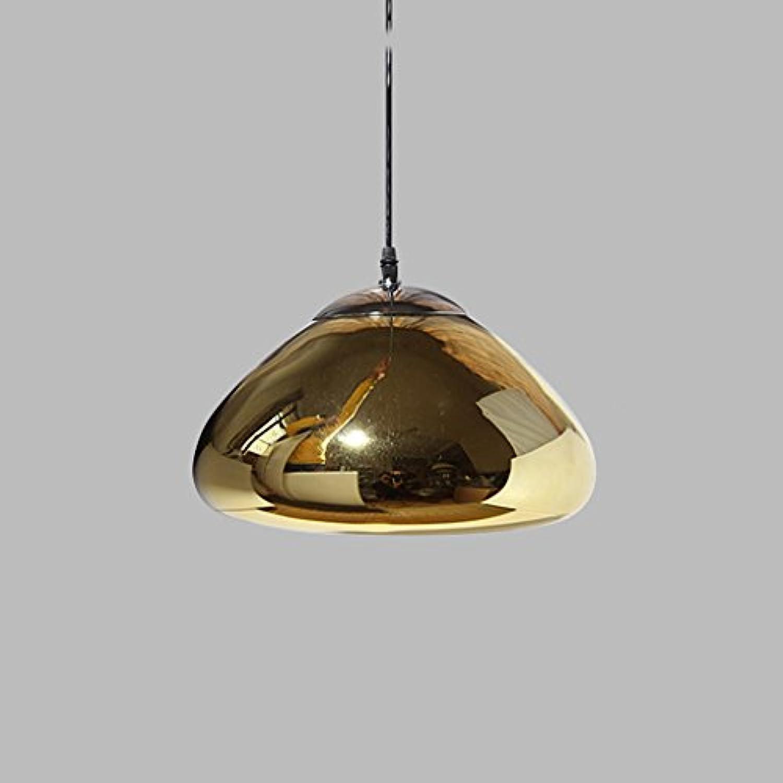 & XMM @ - Europische Messing Schüssel Glas Kronleuchter kreative Design Treppe LED Restaurant leuchtet Mode Wohnzimmer Leuchten
