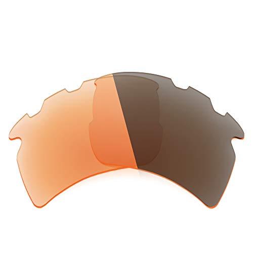 Revant Ersatzgläser Kompatibel mit Oakley Flak 2.0 XL Vented, Nichtpolarisiert, Adapt Orange Photochromic