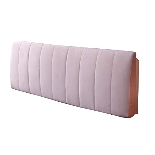 XM cushion ZfgG Cloth backboard soft pack bed no backrest solid wood bed large pillow removable and washable 4 colors optional (Color : A, Size : 200cm)