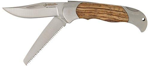 Haller 84670 Taschenmesser 2 teilig Messer, Silber