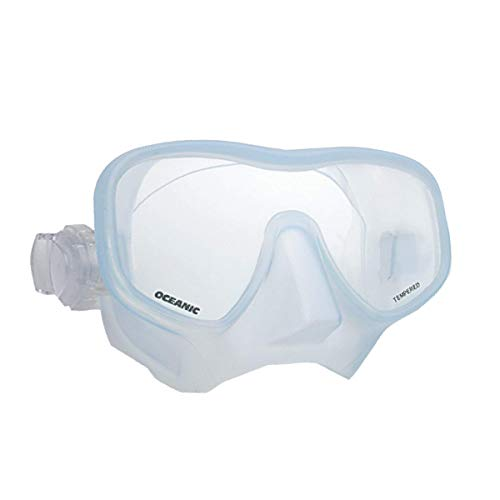 Oceanic Shadow Scuba Diving Mask - Clear