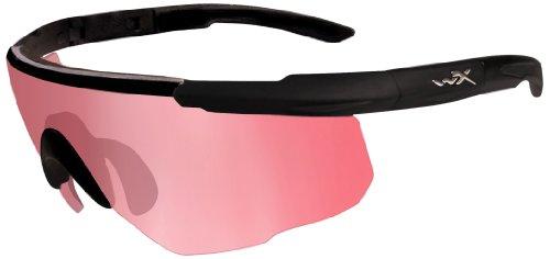 Wiley X Wiley X Schutzbrille Saber Advanced Im Set mit 3 Gläsern, Matt Schwarz, M/XL, 309