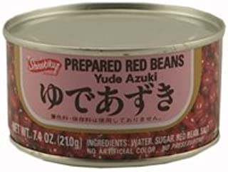 Shirakiku Yude Azuki (Prepared Red Beans) - 7.4oz [ 3 units]