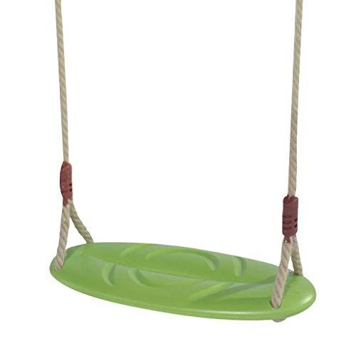 Asiento de Columpio Columpio para niños Tablero Curvo para niños Silla de bebé de Interior al Aire Libre Columpios en Forma de Hoja Silla de Columpio