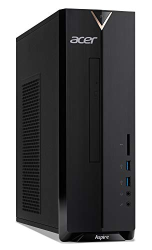 Acer Aspire XC-830 Desktop-PC (Intel Celeron J4005, 4 GB, 1.000 GB HDD, Intel UHD, Windows 10 Home) schwarz