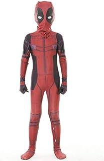 Longdai It Deadpool Scaldacollo in microfibra con scaldacollo e bandana protettiva