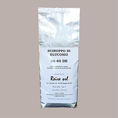 Lucgel Srl 1 kg Sciroppo Glucosio Dry in Polvere 39 DE REIRE per Gelato e Pasticceria