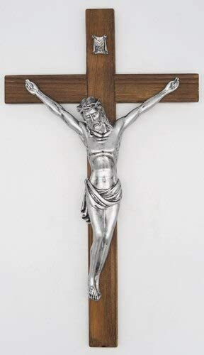 Christian Decor 16.5 Inch Wall Painted Cross Wood All items in the store 2021new shipping free shipping Crucifix Hand