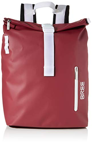 BREE Unisex-Erwachsene Punch 713, Rhododendron, Backpack M W19 Rucksack Rot (Rhododendron)