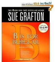 B Is For Burglar (Kinsey Millhone Mysteries) [Abridged, Audiobook]