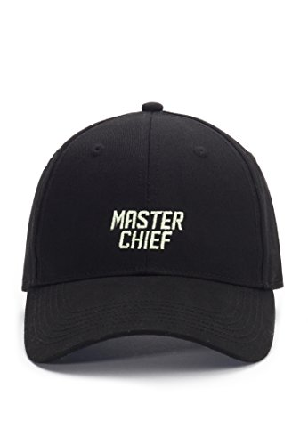 Hands of Gold Master Chief Curved Cap Snapback, Black/Mc, one Size