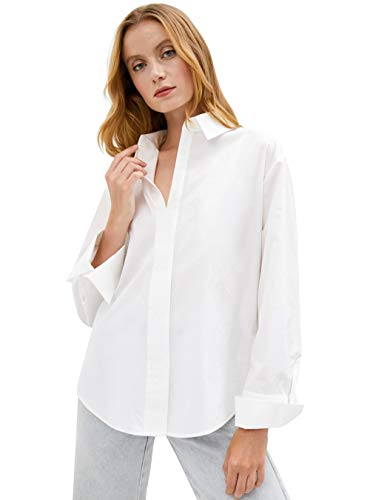 Camisa En V Mujer  marca YI HENG MEI