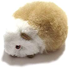 【ほったらかしペット】【ミックスカラー】クイ(テンジクネズミ)の形した ふわふわ ぬいぐるみ アルパカ毛 100% 1個 ペルー製の民芸品