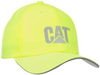 Caterpillar Men s Trademark Cap Hi-Vis Yellow One Size