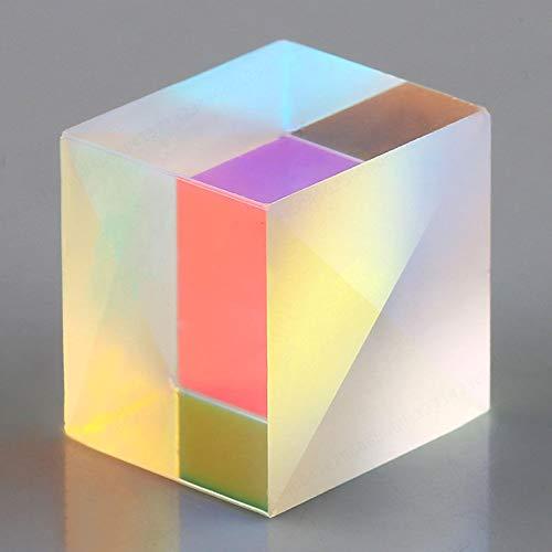 LNIEGE RGB Combiner-Splitter Prism Defekte Kreuz Dichroic Glas X-Cube Prism Cube Für Experiment
