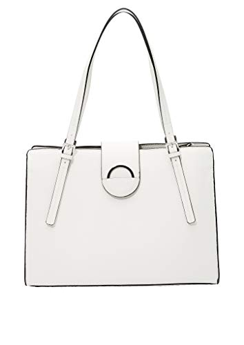 s.Oliver (Bags Damen Shopper, 0210 White, 1