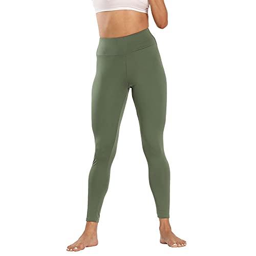 QTJY Pantalones de Yoga de Cintura Alta para Mujer, Pantalones elásticos de Secado rápido, Leggings para Exteriores, Pantalones para Correr, Pantalones de chándal GM