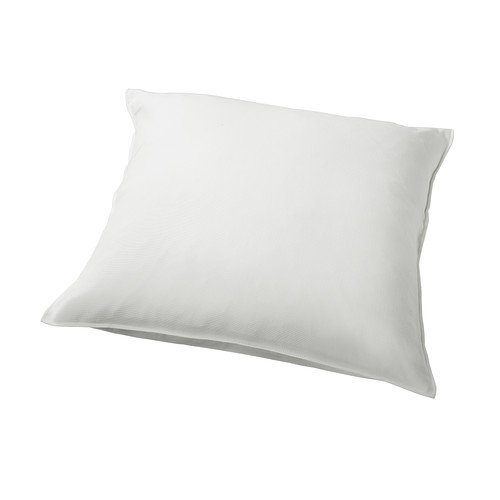 IKEA Gurli - Funda de cojín, blanco - 50x50 cm