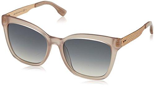 Jimmy Choo Damen JUNIA/S IC PR5 55 Sonnenbrille, Pink (Pink Gold/Grey Mesh Slv)