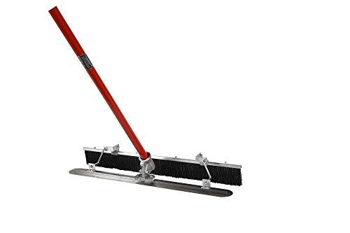 KREBER Handpatsche mit Besenaufsatz K1200 Abziehpatsche Fresno Broom