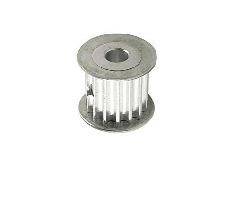 1pc 5M 10T correa dentada Polea 5/6 / 6.35 / 7 mm Diámetro del engranaje de polea 10Teeth 5M-10T de 16 mm / 21 mm Anchura Polea de transmisión for el CNC de la máquina ( Color : 5mm , tamaño : 21mm )