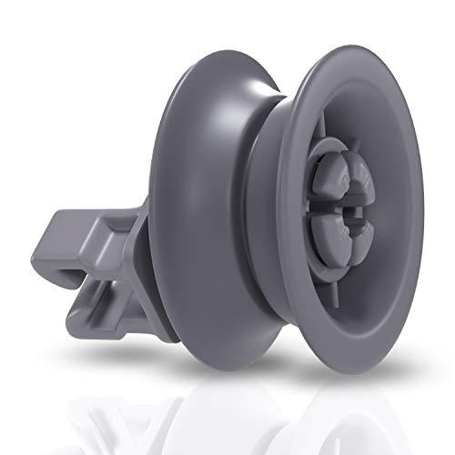 Korbrolle Ersatz für Bosch 00611666 00165313 Rolle Rad Geschirrkorb Korbrolle Ersatzteile Zubehör für Oberkorb Spülmaschine Geschirrspüler
