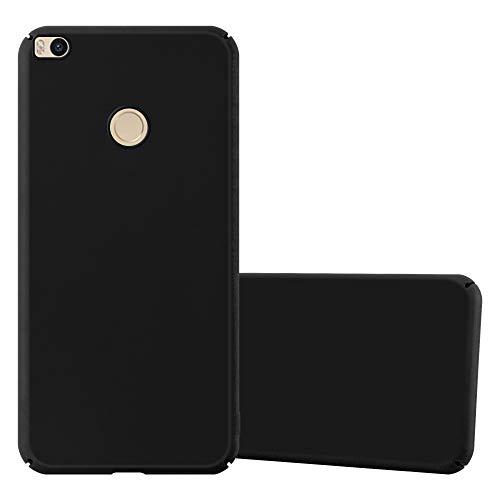 Cadorabo Funda para Xiaomi Mi MAX 2 en Metal Negro - Cubierta Protección de Plástico Duro Super Delgada e Inflexible con Antichoque - Case Cover Carcasa Protectora Ligera