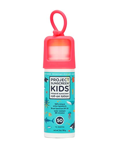 Project Sunscreen Roll-On SPF 50 Sun Protection for Kids -...