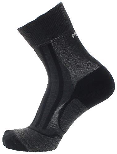 Meindl unisex-adult Socks, Schwarz, 39-41 (16er Pack)