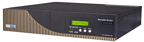 OPTI-UPS DS1500B-RM (1500va) Rack Mount Rack Online Double Conversion Sinewave Uninterruptible Power Supply (UPS) PFC Compatible Battery Backup 6-Outlet On-Line