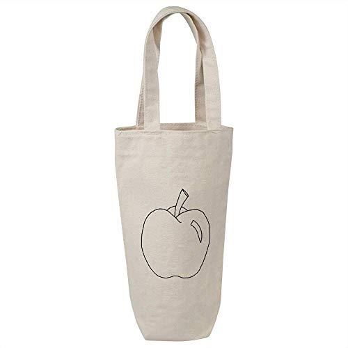 'Apfel' Weinflasche Geschenktasche / Flaschenträger (BL00004595)