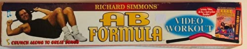 Richard Simmons' Ab Formula- Includes Video, Ab Bar, & Instruction Booklet