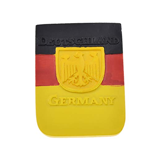 Hongma Deutsch Kühlschrankmagnet Staatsflagge R& Pinnwand Whiteboard Dekor Vintage