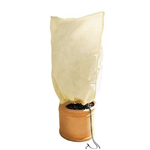 Pratique Sac de jardin extérieur de protection des végétaux d'hiver usine de protection Frostproof Sac 2 Taille Nonwoven couverture végétale Arbre plantes couverture de soins décoratif
