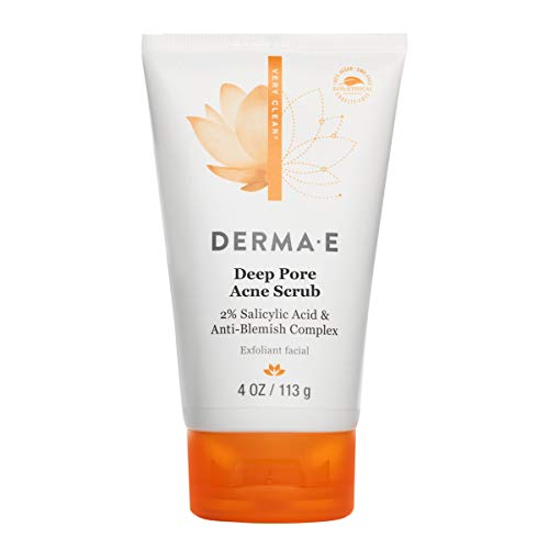DERMA E Deep Pore Acne Scrub, 4 oz