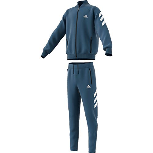adidas Yb Xfg TS Chandal, Niños, Azul (Tech Ink/White), 3XL (Talla Fabricante: 15-16Y)