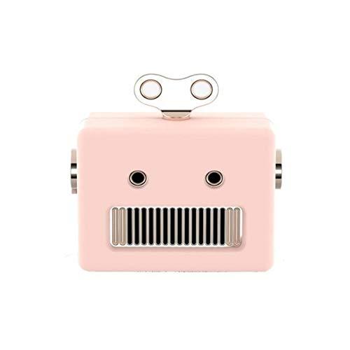 Qushini Bluetooth Robot Speaker Pink - 8055002396974