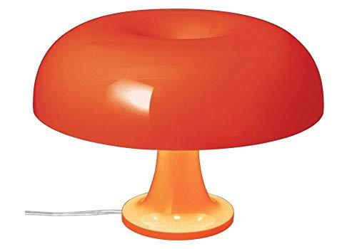 Artemide Nessino Tischleuchte E14 4 x 20 W Design Giancarlo Mattioli 1960 – Orange