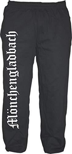 HB_Druck Mönchengladbach Jogginghose XL Schwarz